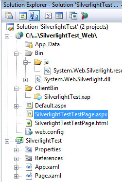 Silverlight 2 Beta 1 Solution